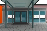 Eingang Visualisierung